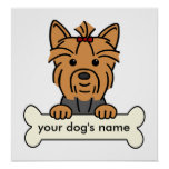 Personalized Yorkie Poster