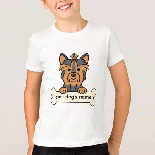 Personalized Yorkie T-Shirt