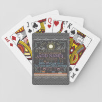 Personalized You Are My Sunshine Playing Cards