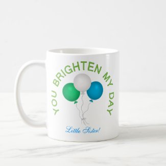 Personalized: Your Brighten My Day Mug mug