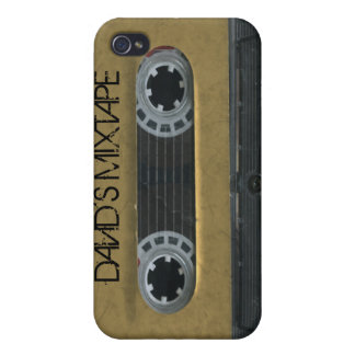Personalized 'Your Name' Mixtape iPhone4/4s skin Covers For iPhone 4