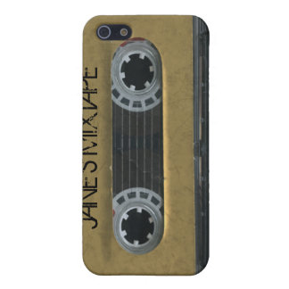 Personalized 'Your Name' Mixtape iPhone4/4s skin Covers For iPhone 5