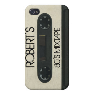 Personalized 'Your Name' Mixtape iPhone4/4s skin iPhone 4/4S Cover