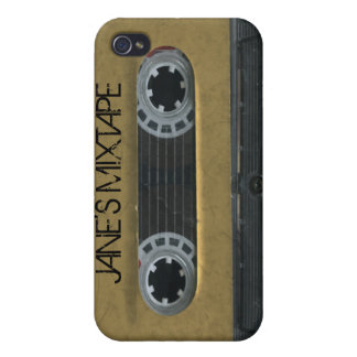 Personalized 'Your Name' Mixtape iPhone4/4s skin iPhone 4/4S Case