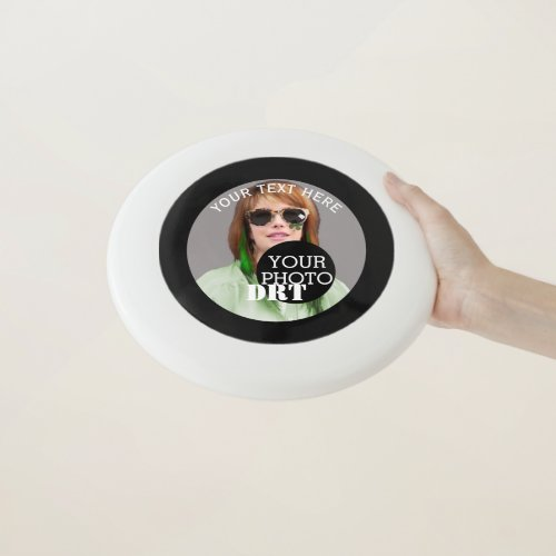 Personalized Your Text Monogram Your Image on a Wham_O Frisbee