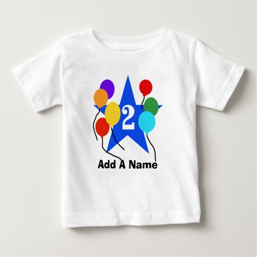 Personalized You're the Star 2nd Birthday Tshirt