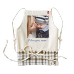 Personalized Zazzle Heart Aprons Add Your Photo<br><div class='desc'>Personalized Zazzle Heart aprons with customizable text and photo - you can add your text and your photo</div>