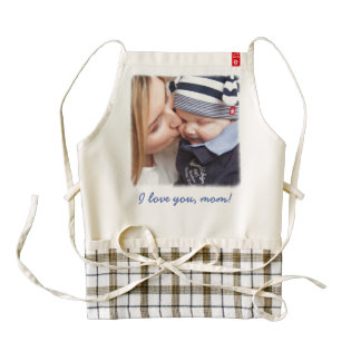 Personalized Zazzle Heart Aprons Add Your Photo