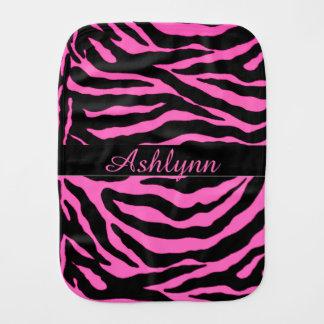 Personalized Zebra Animal Print Baby Cloth