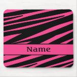 Personalized Zebra Mousepad