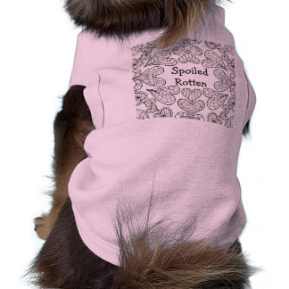 Personalized Zendoodle Doggie Ribbed Tank Top