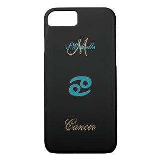 Personalized Zodiac Sign Cancer iPhone 7 Case