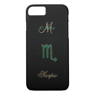 Personalized Zodiac Sign Scorpio iPhone 7 Case