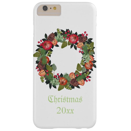 PersonalizedChristmas Wreath Phone Case