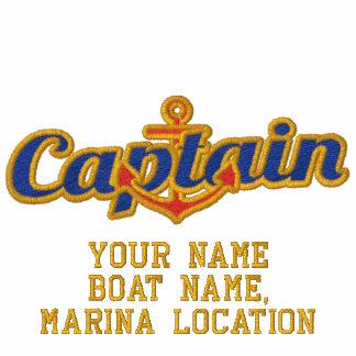 Personalizó a su capitán de mar conocido ancla sudadera personalizada