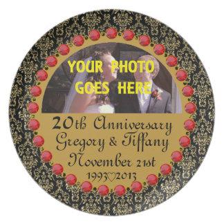 Personalizó CUALESQUIERA # placa de la exhibición  Platos