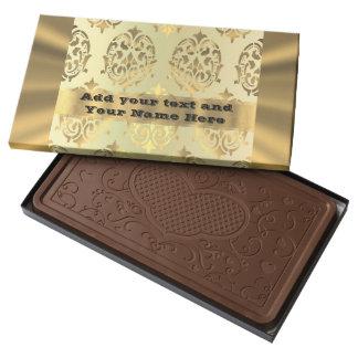 Personalizó cualquier damasco del oro de la chocolate con leche personalizado