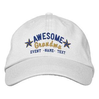 Personalizó su bordado impresionante conocido de gorras bordadas