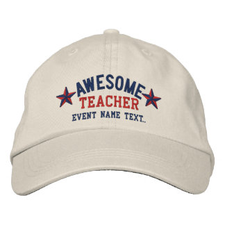 Personalizó su bordado impresionante conocido del gorra de beisbol