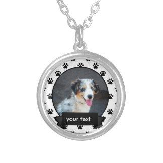 Personalizó su collar del perro casero