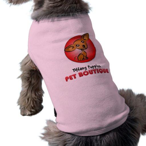 Personalizó su propio diseño del boutique del masc camisa de perro