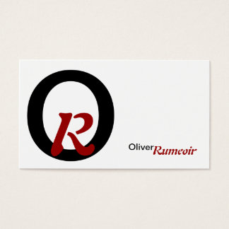 personally business card