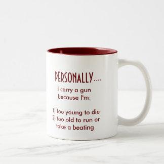 PERSONALLY... Two-Tone COFFEE MUG