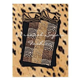 Personalsafarifunky Personal Safari Fashion Post Cards