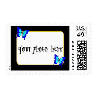 Personalzie this Photo Frame Stamp