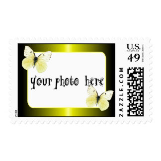 Personalzie this Photo Frame Stamps