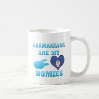 Personas de Guam son mi Homies Tazas