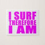 Personas que practica surf del chica: Me practico  Puzzle Con Fotos