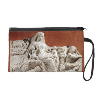 Personification of the earth mother, allegorical r wristlet purses