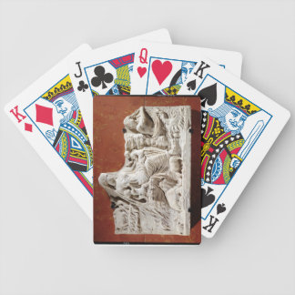 Personification of the earth mother, allegorical r bicycle playing cards