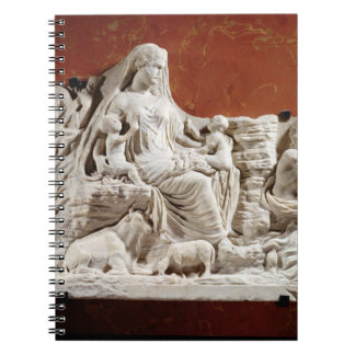 Personification of the earth mother, allegorical r notebook