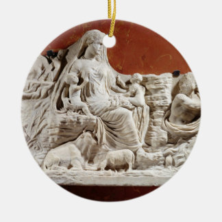 Personification of the earth mother, allegorical r christmas tree ornaments
