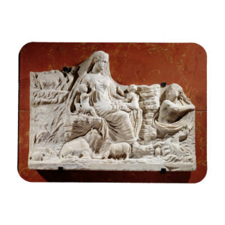 Personification of the earth mother, allegorical r magnet
