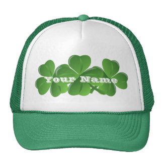 Personlalized  Irish St Patrick's day Trucker Hat