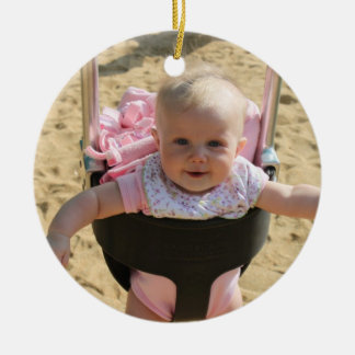 Personlized Baby First Birthday Ornament