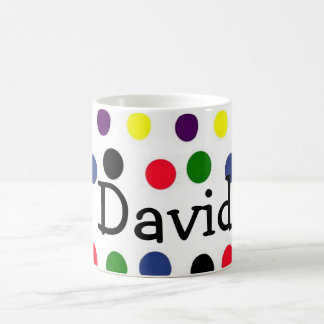 Personlized Doted taza
