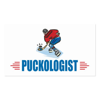 Personlized Ice Hockey Business Card