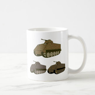 Personnel carrier Camo Coffee Mug