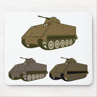 Personnel carrier Camo Mouse Pad