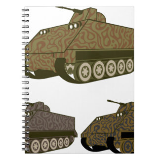 Personnel carrier Camo Notebook