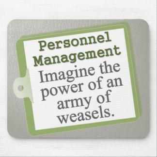 Personnel Management Mousepad