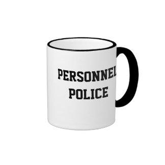 Personnel Police - Human Resources Rude Nickname Ringer Mug