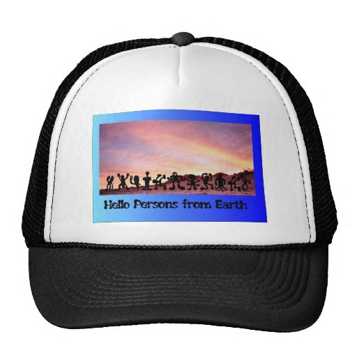 Persons from Earth Mesh Hats