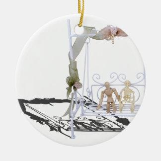 PersonSkeletonSwingSet103013.png Ceramic Ornament