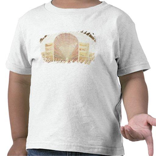 Perspectiva de la sección camisetas