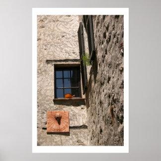 Perspectiva de la ventana póster